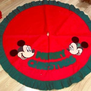 disney accessories disney christmas tree skirt