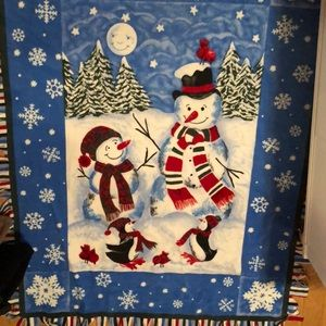 Other - Christmas blanket!