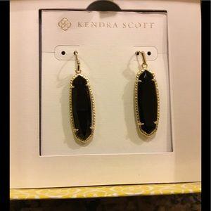 Kendra Scott Black Layla Earrings