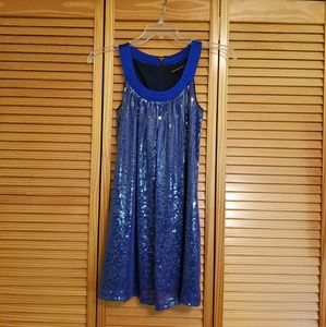 Betsey Johnson Sparkle Blue Dress
