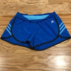 Adidas Women's Blue 3S Shorts