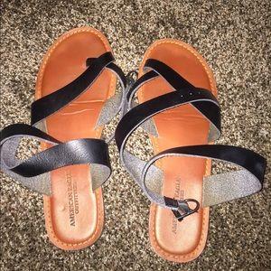 super cute strappy sandals!!
