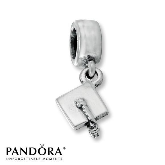 pandora graduation charms silver