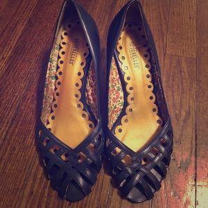 Vintage-y Blue Heels