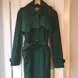 NWOT ASOS green winter coat.