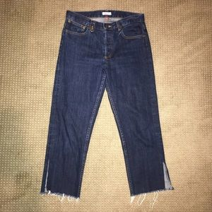 Madras by A.P.C. cropped jeans
