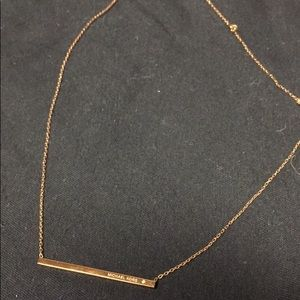 Micheal Kors- Rose gold necklace