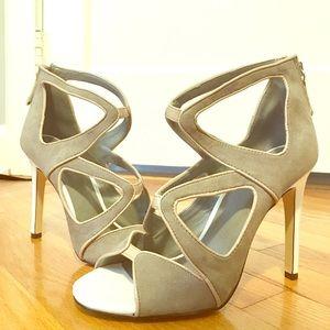 ASOS grey heels. Never worn.
