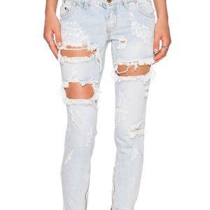 NWT One Teaspoon freebird jeans