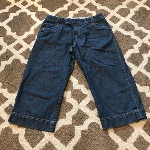 GUC Eddie Bauer cropped pants (binZ)