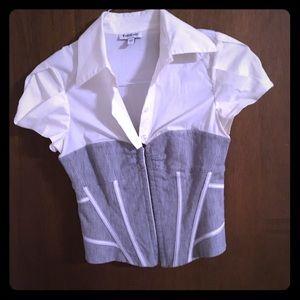 Bebe corset top