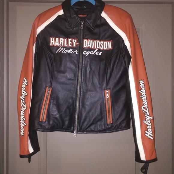 2d643960e6417f Harley-Davidson Jackets   Blazers - Women s Harley Davidson Leather Cruiser  Jacket
