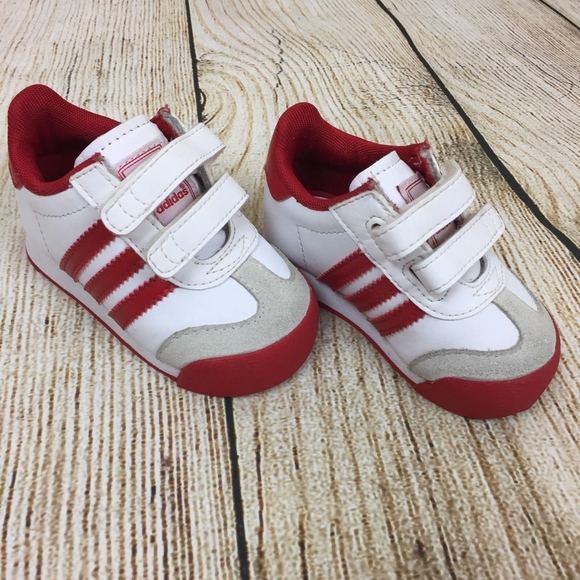 71ac7e2b7784 adidas Other - Adidas AdiFit Baby Toddler Shoes Red White