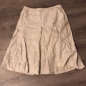 Brooks Brothers wool skirt with silk lining