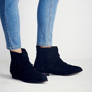 Free People Decades Ankle Booties