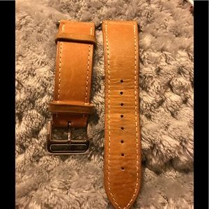 Accessories - Apple watch brown. Not sure if it's leather
