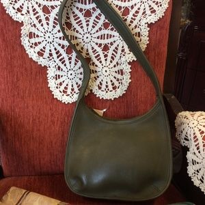 SOLD Deep Forrest COACH Vintage Handbag