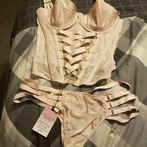 Corset/panty set