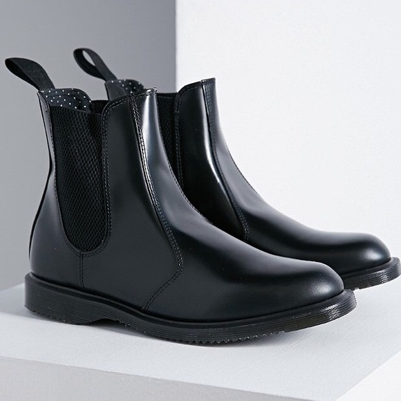 483730a9376 Dr. Martens Shoes | Doc Dr Martens Flora Vegan Chelsea Boot Black 9 ...