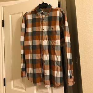 Men's Buffalo Check/Plaid long sleeve