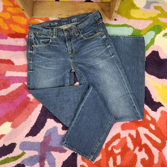 J. Crew Factory Denim - J. Crew vintage slim denim jeans Size 26R