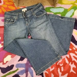 Abercrombie & Fitch flare denim jeans Size 10R