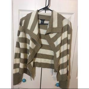 Rue 21 striped cardigan