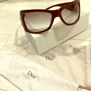 Classic Dior Black Sunglasses. Excellent condition