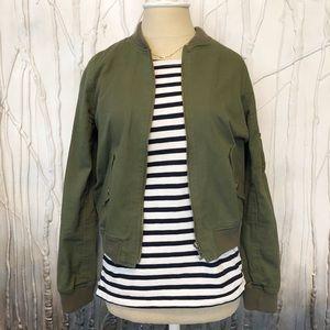 Jackets & Blazers - Army Green Bomber Jacket from Japan 🇯🇵 - Small