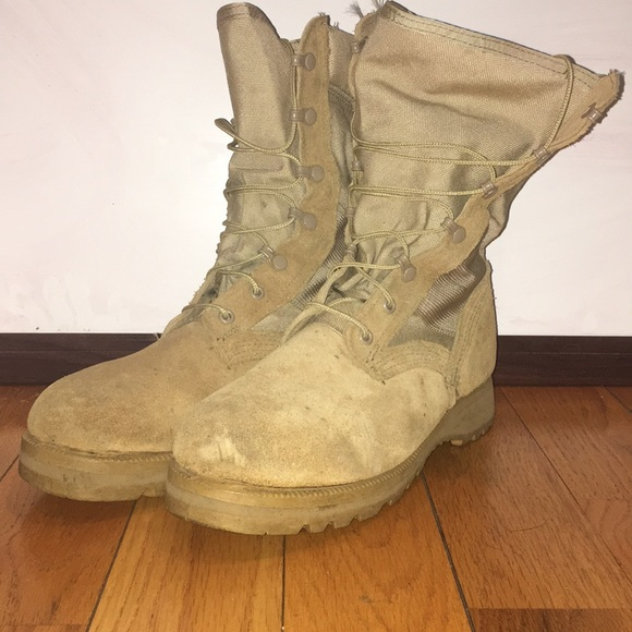 6a70d0bb1c4 Vibram Shoes   Used Military Boots   Poshmark