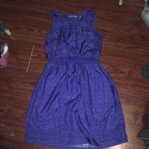 Blue Vera Wang Dress