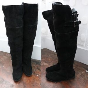 b4ac864d09333 ASOS Shoes | Kasba Wide Fit Flat Over The Knee Boot | Poshmark