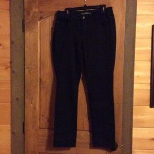 Faded Glory black skinny jeans. Size 14A