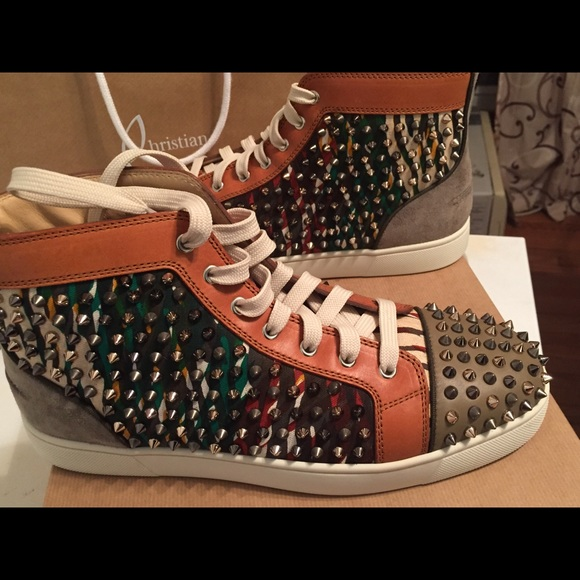 a6c9cd8462f0 Christian Louboutin Other - Men s Spike Loubs