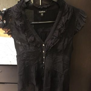 Bebe fitted top