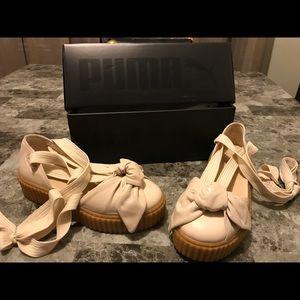 Fenty Puma tie up sandals