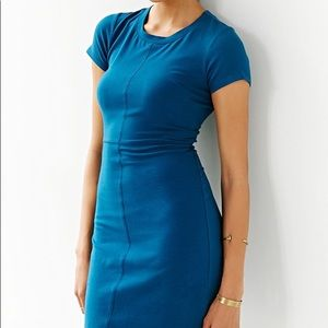 Silence+Noise NWOT Blue Bodycon Tshirt Dress Sz XS