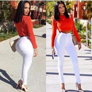 FASHION NOVA Super High Waist Jeans