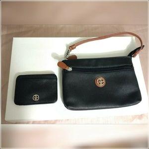 Giani Bernini wristlet & card holder set