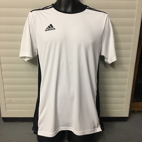 adidas Shirts | New Adidas Mens Entrada 8 Jersey White | Poshmark