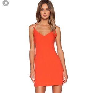 "Dresses & Skirts - Brand new ""Three of something"" orange dress 👗 🍊"