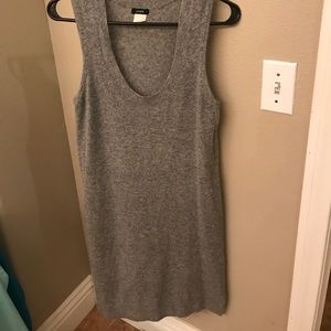 Stunning J. Crew wool and cashmere tank dress