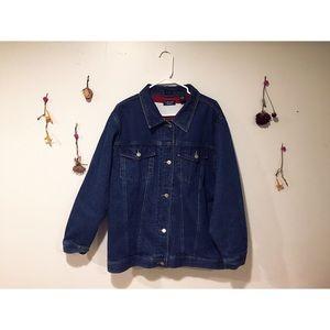 90's Plus Size Denim Jacket