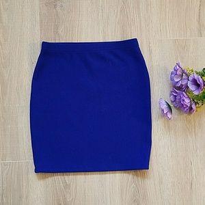 Ribbed skirt from forever 21