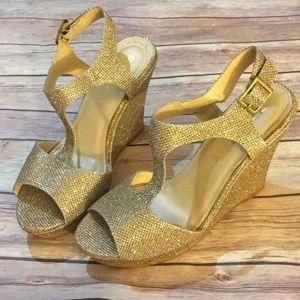 Rampage Candelas Wedge Sandals