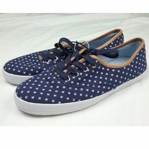 Tommy Hilfiger Canvas Women's Sz 10M Shoes Navy