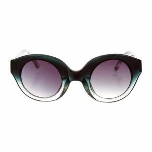 Alexandre Herchcovitch ombré circular sunglasses