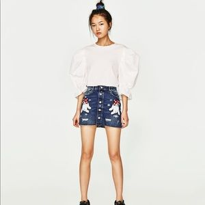 Zara Minnie Mouse Skirt