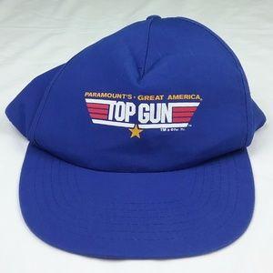 Top Gun Paramount's Great America VTG Snapback