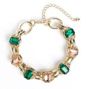 Jewelmint GEM BLOSSOM Statement Bracelet NEW RARE